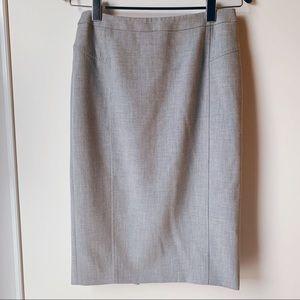 2/$30 Austin Reed grey pencil skirt size 10